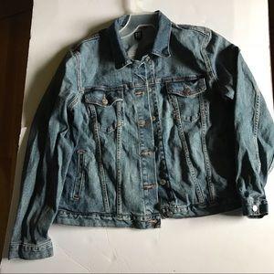 Gap Icon Medium Wash Jean Jacket XL